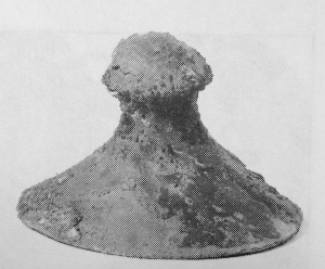 Bronze cymbal from Nimrud (Tigris-Euphrates Valley), 9th-8th century B.C.E.